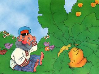 Сказка про репку | Детские сказки с картинками читать. Репка ...